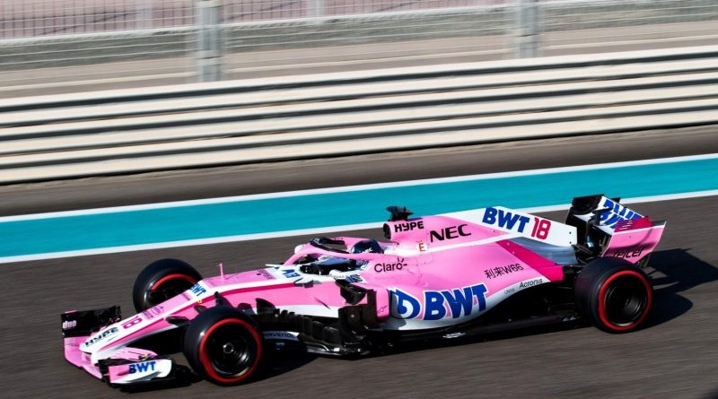 Lance Stroll Force India