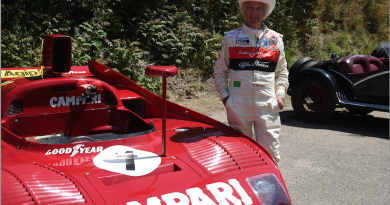 Arturo Merzario Alfa Romeo Racing