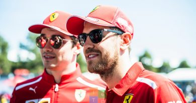 Sebastian Vettel e Charles Leclerc Ferrari