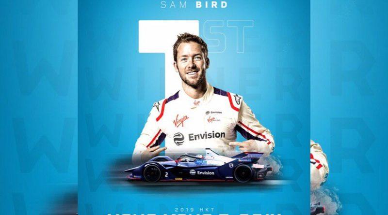 E-Prix di Hong Kong Sam Bird