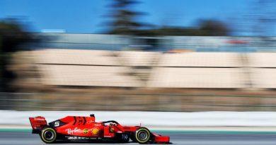 Ferrari Test di Barcellona