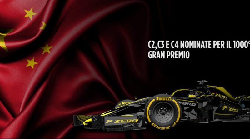 Anteprima Pirelli del Gran Premio di Cina