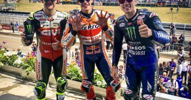 MotoGP | Gran Premio di Germania, gara: Marc Marquez domina davanti a Maverick Vinales e Cal Cruthlow
