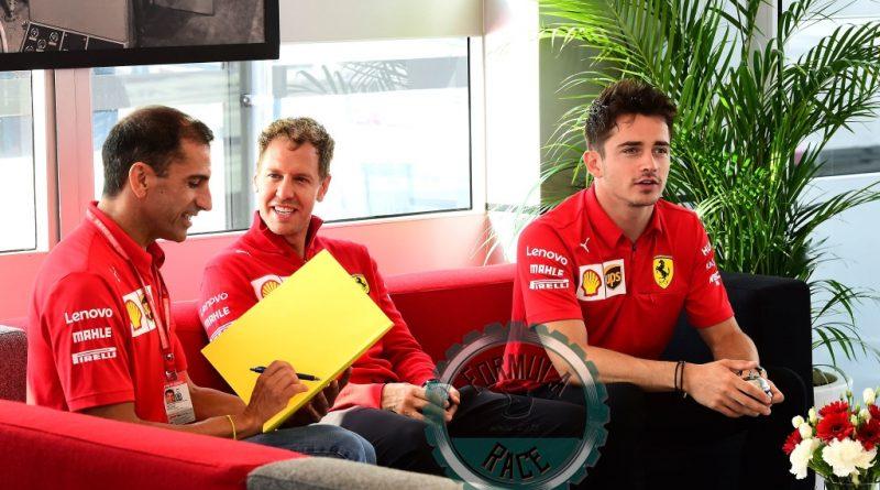Genè Vettel Leclerc
