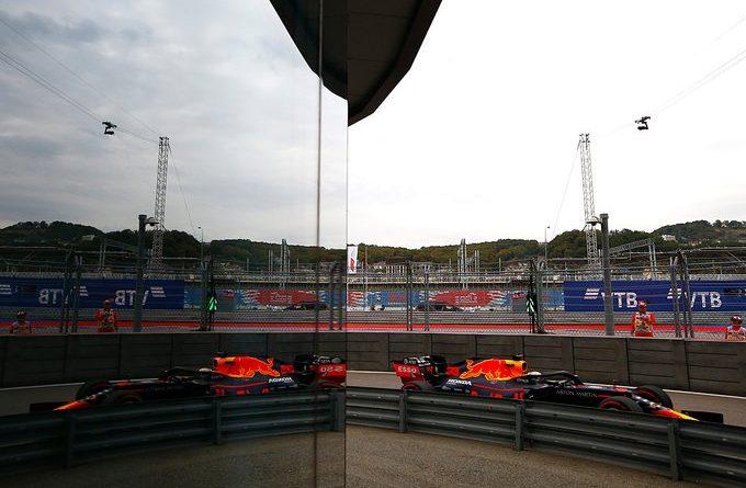 Max Verstappen GP Russia FP2