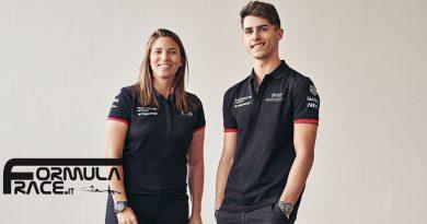 Simona De Silvestro e Thomas Preining Porsche Formula E