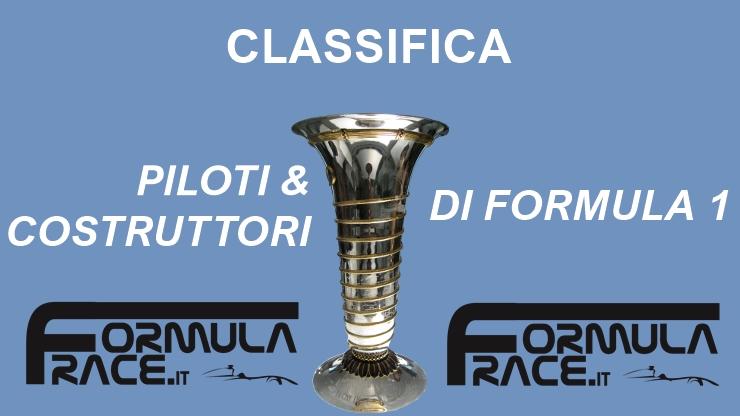 Classifica Formula 1
