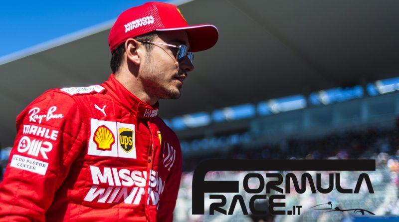 Charles Leclerc Ferrari GP Giappone