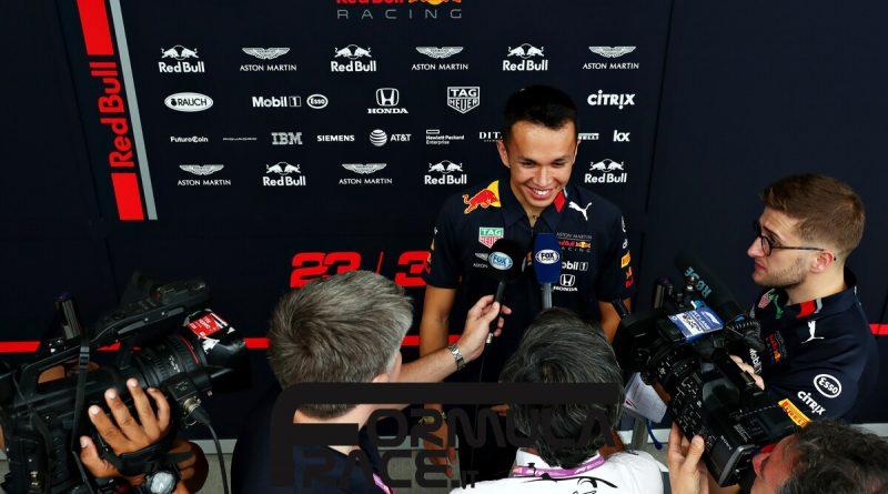 GP Giappone Alexander Albon Red Bull