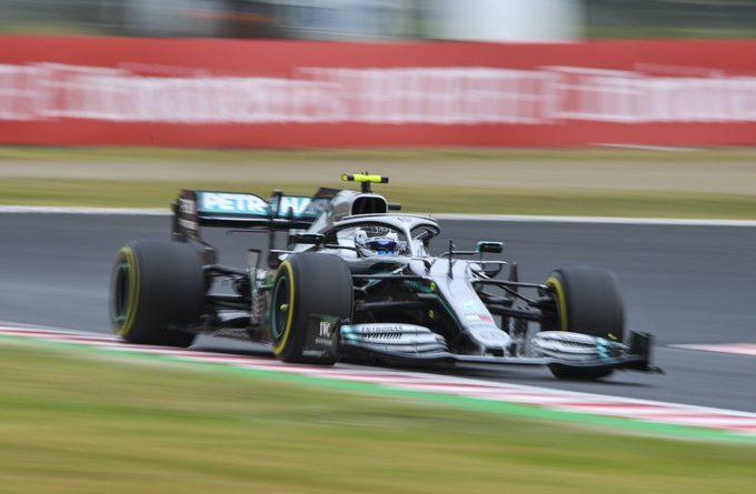 GP Giappone FP1 Valtteri Bottas Mercedes