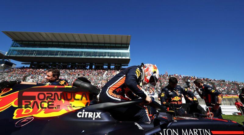 Max Verstappen Red Bull GP del Giappone