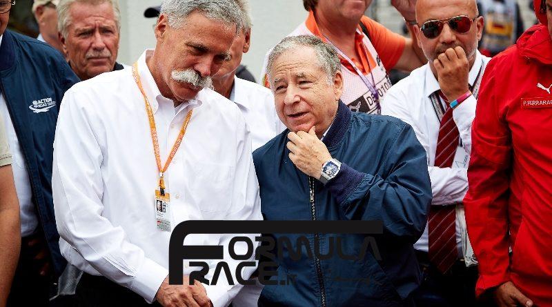 Regolamento tecnico Formula 1 2021 Carey Todt